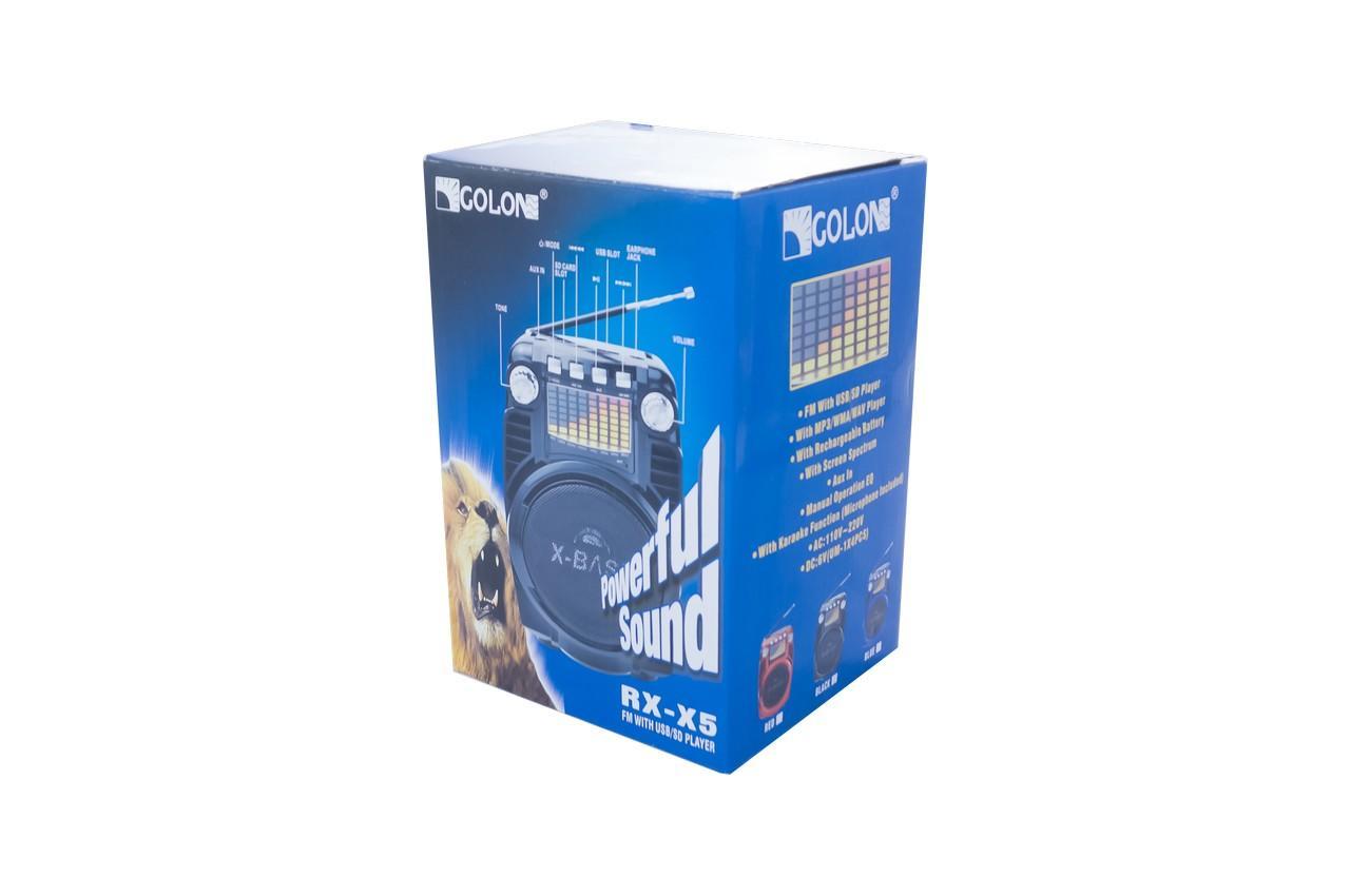 Радиоприемник Golon - RX-X5