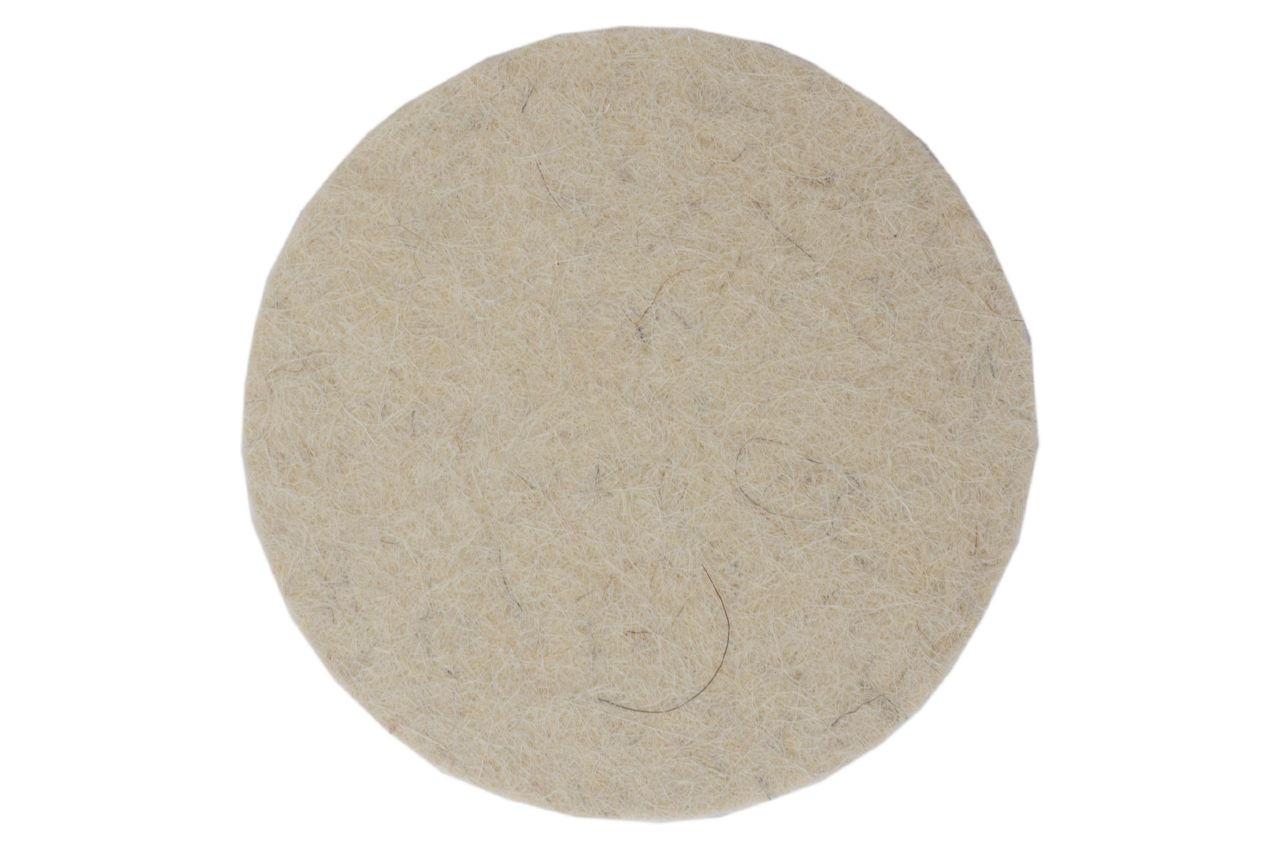Круг войлочный на липучке Асеса - 125 x 10 мм