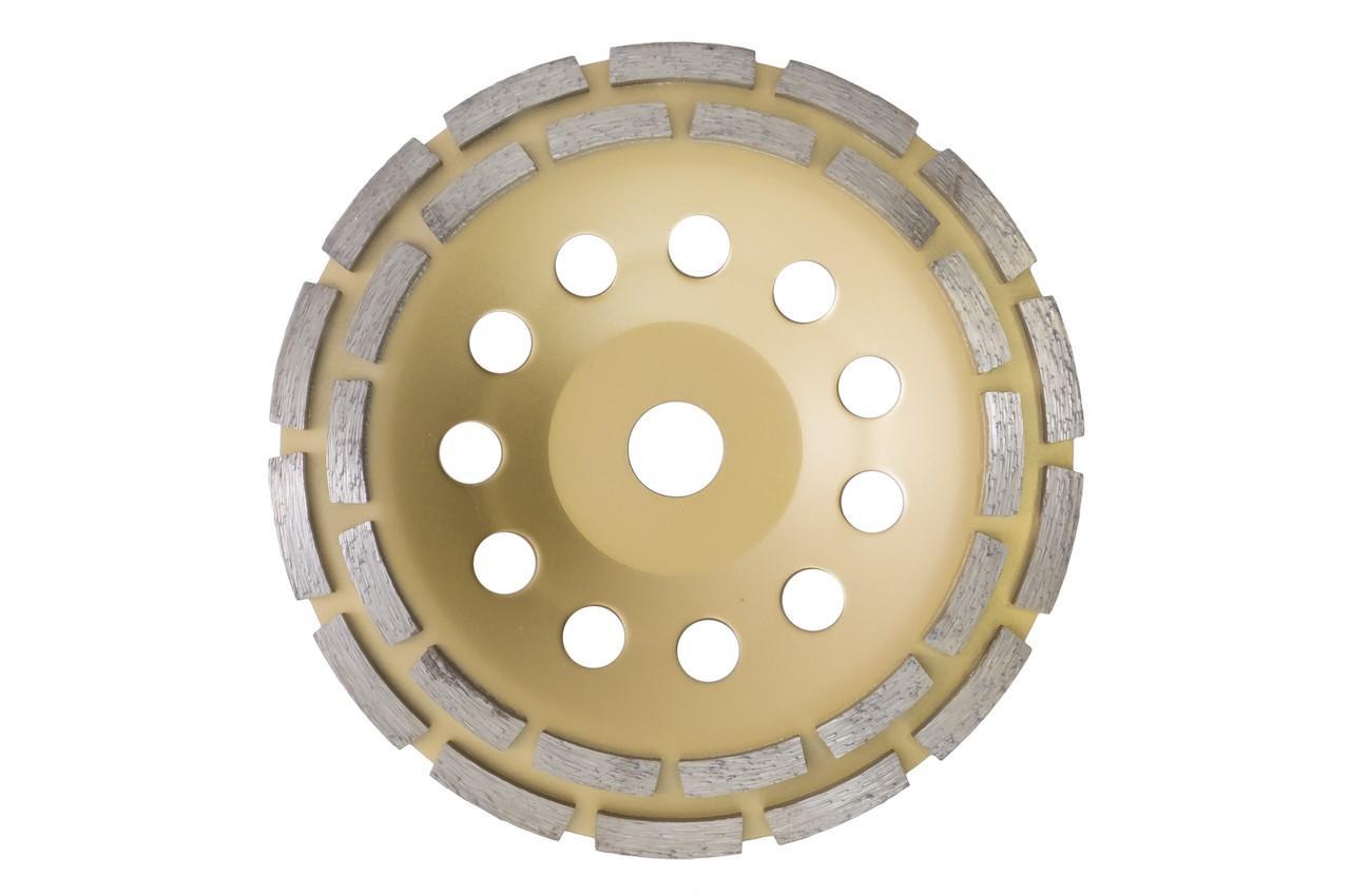 Чашка алмазная Асеса - 180 x 22,2 мм сегмент желтая