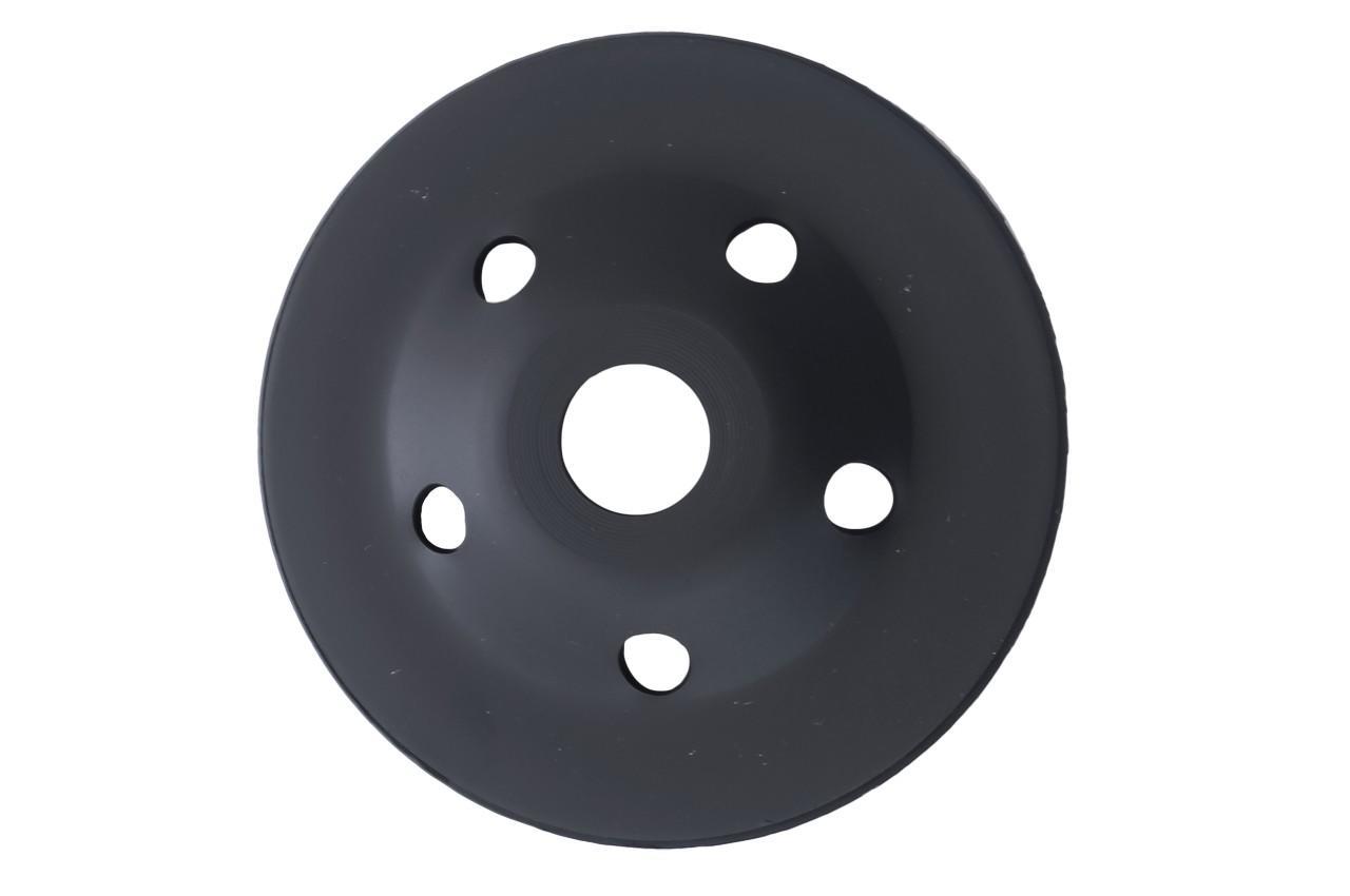 Чашка алмазная Асеса - 125 x 22,2 мм турбо черная
