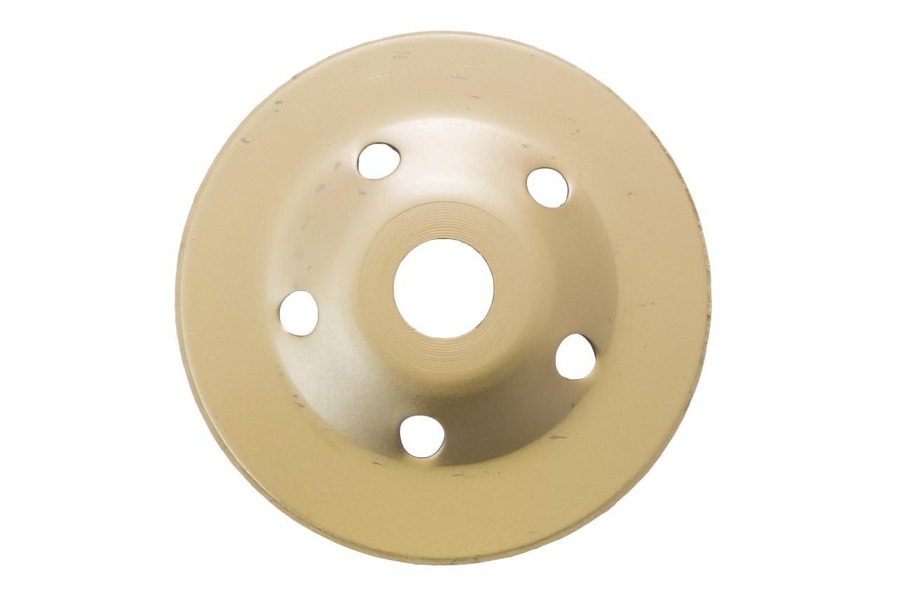 Чашка алмазная Асеса - 125 x 22,2 мм турбо желтая