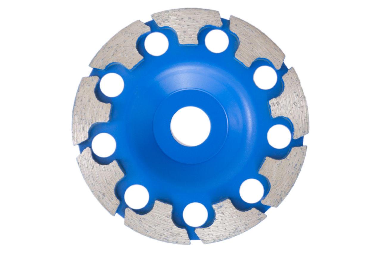 Чашка алмазная Асеса - 125 x 22,2 мм T синяя