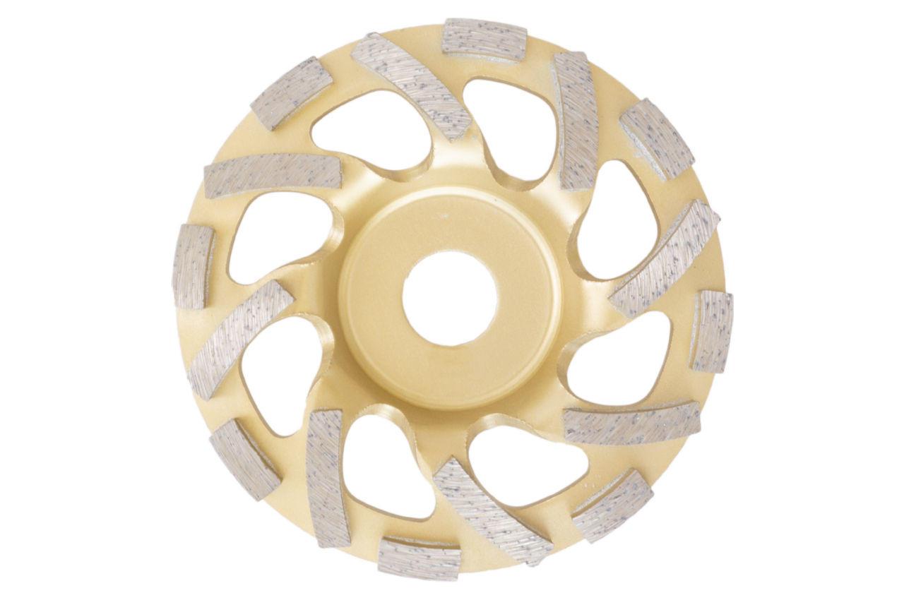 Чашка алмазная Асеса - 125 x 22,2 мм TC желтая