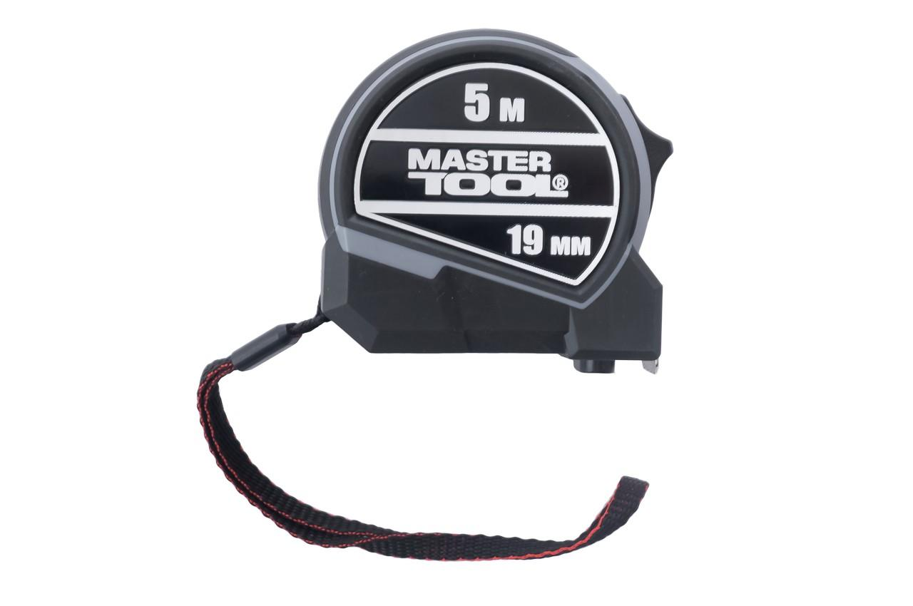 Рулетка Mastertool - 5 м x 19 мм 2 фиксатора