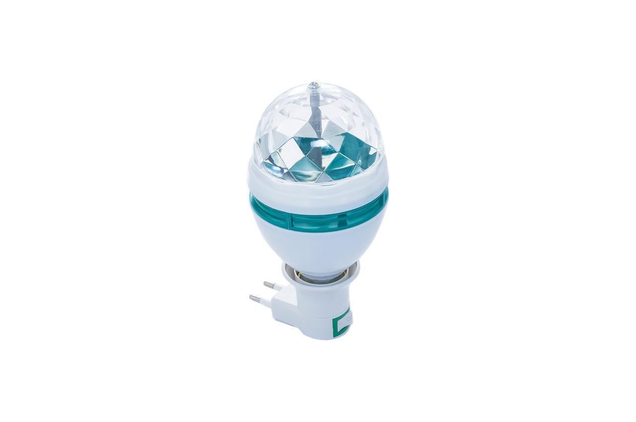 Диско лампа с патроном Crownberg - CB-0301