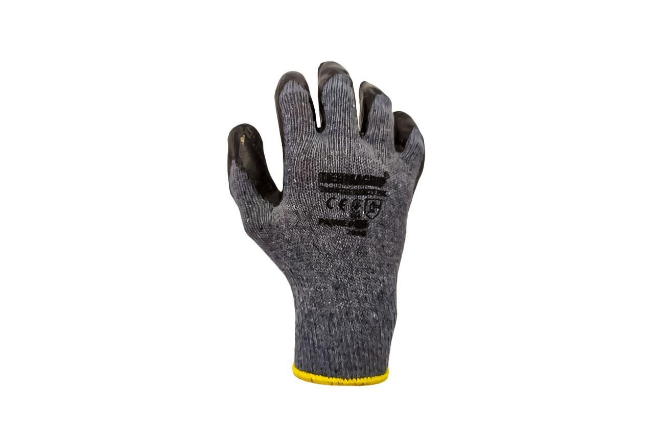 """Перчатки PRC - латексные серые 10"""" 6 шт."""