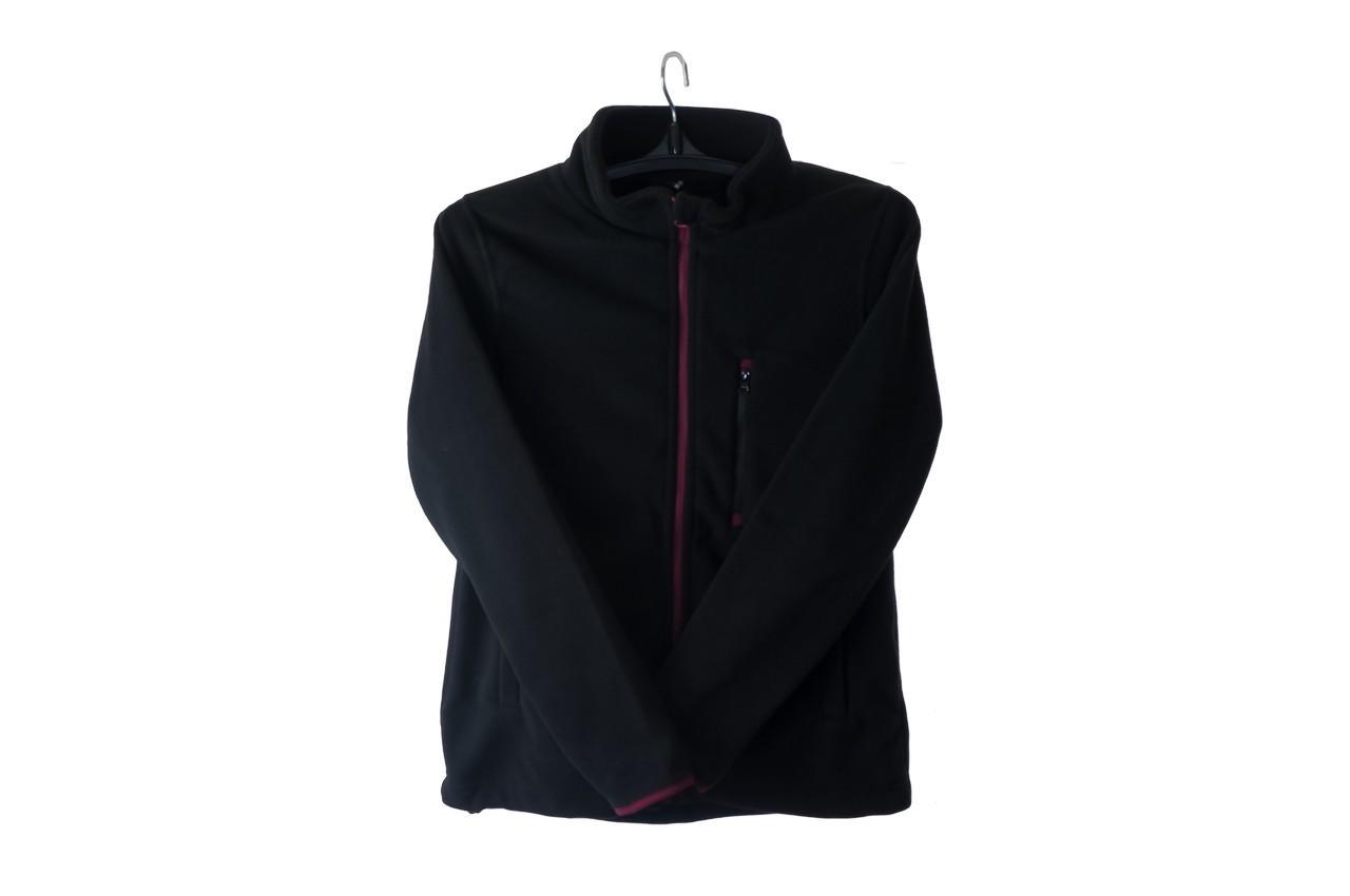 Блуза флисовая - XL/42 черная