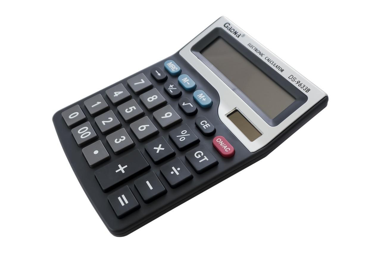 Калькулятор Gaona - DS-9633B