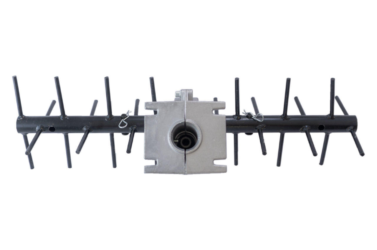 Насадка культиватор Асеса - 26 мм x 9T колесо ровное