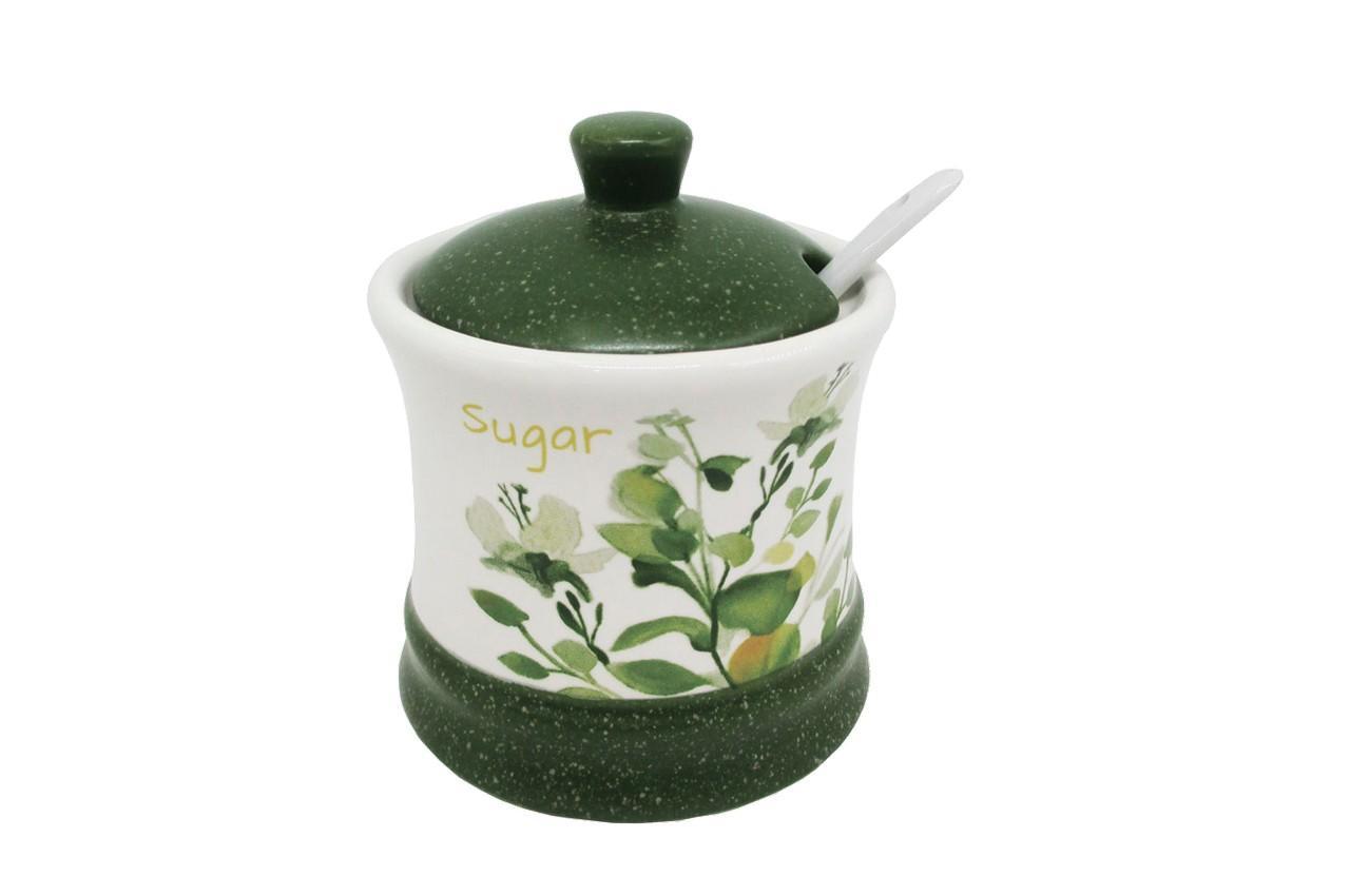 Сахарница с ложкой керамическая Maestro -