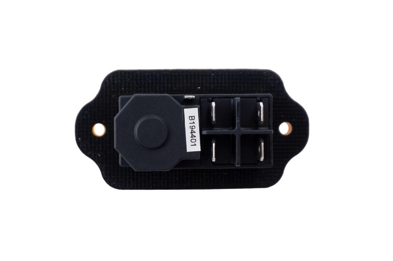Кнопка бетономешалки Асеса - 5 контатктов желтая