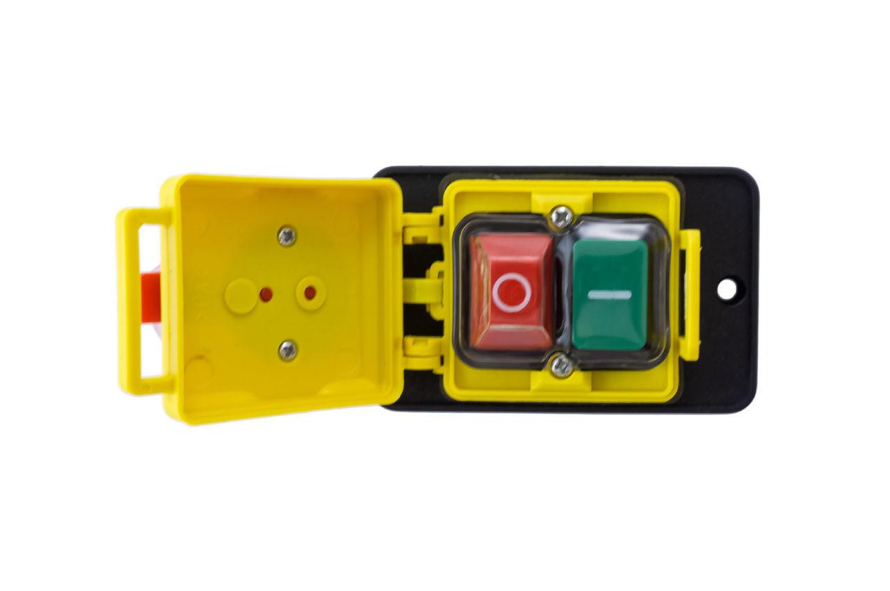 Кнопка бетономешалки Асеса - 4 контакта с крышкой