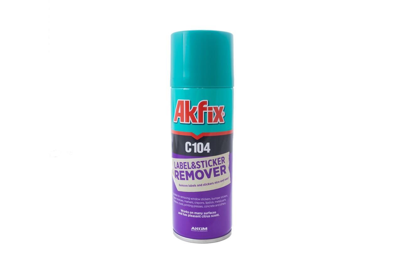 Спрей очиститель наклеек Akfix - 200 мл C104