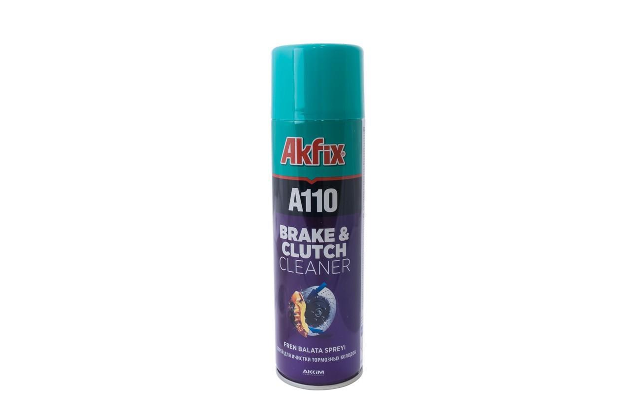 Спрей очиститель тормозных колодок Akfix - 500 мл R110