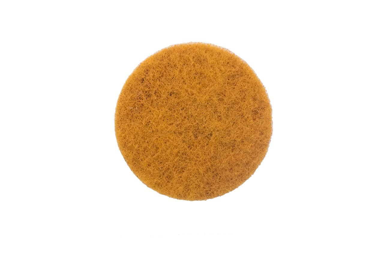 Скотч-брайт на липучке Pilim - 100 мм x P1000 желтый