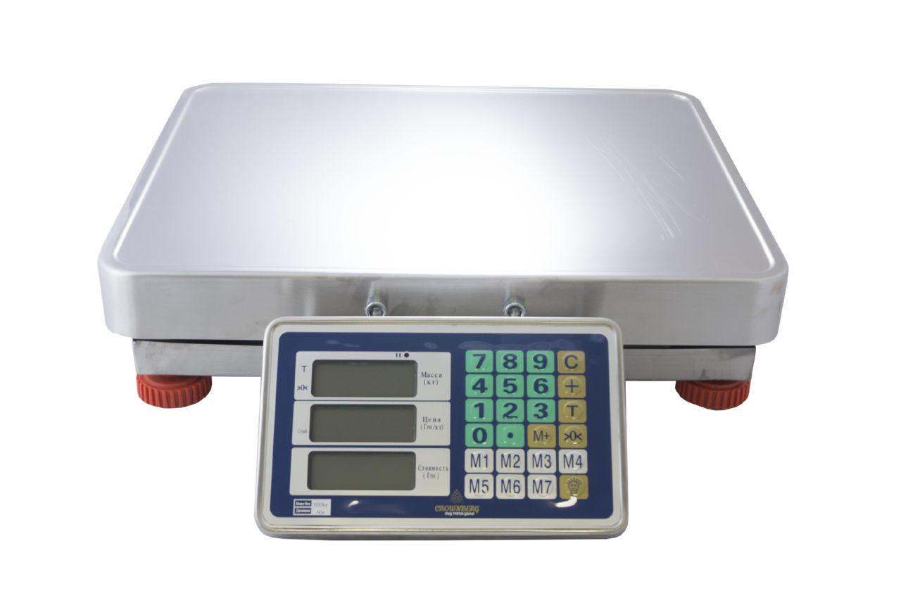 Весы торговые Crownberg - CB-650 kg