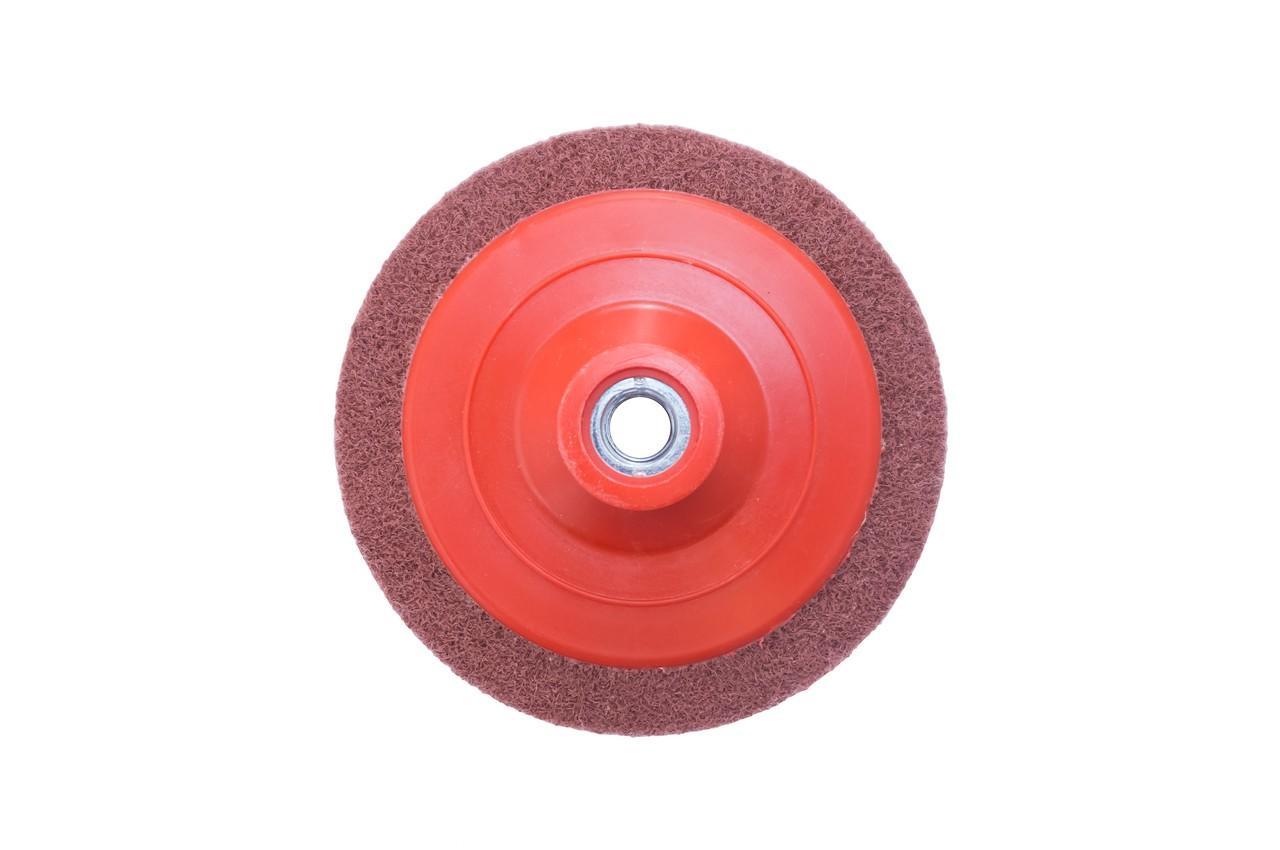 Вспененный абразив на УШМ Pilim - 125 x 12 мм x P80 бордовый