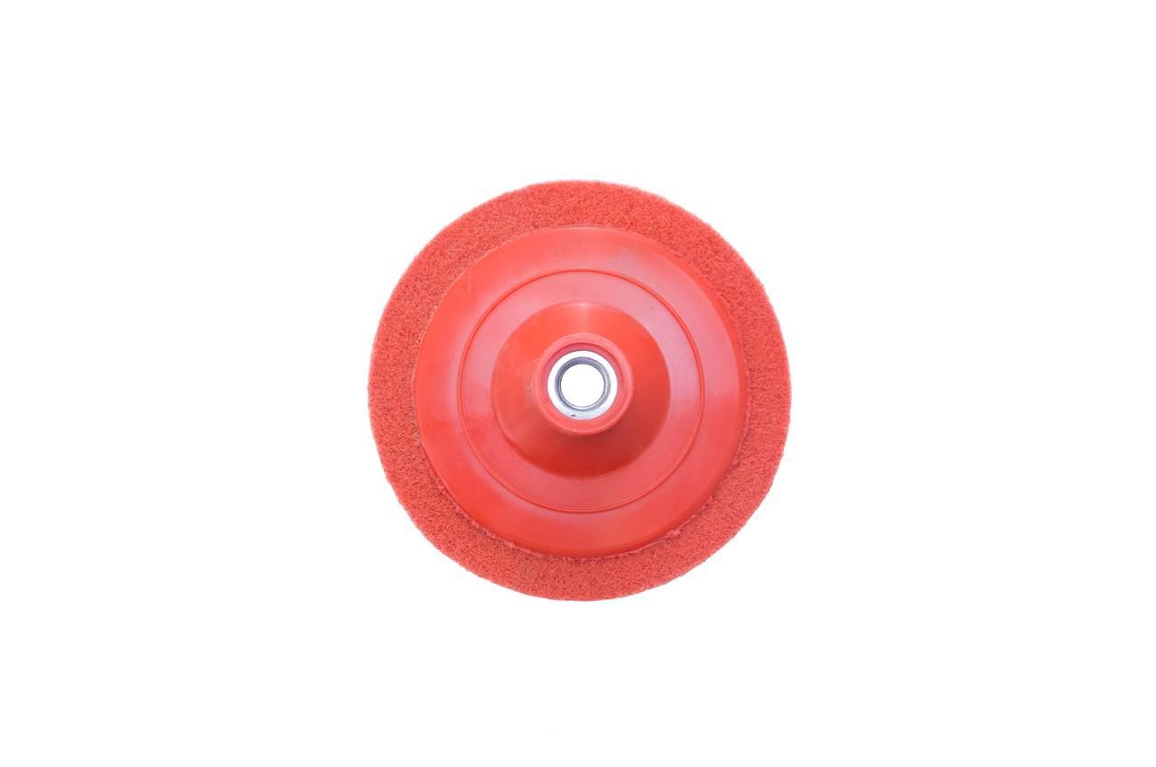 Вспененный абразив на УШМ Pilim - 125 x 12 мм x P120 красный