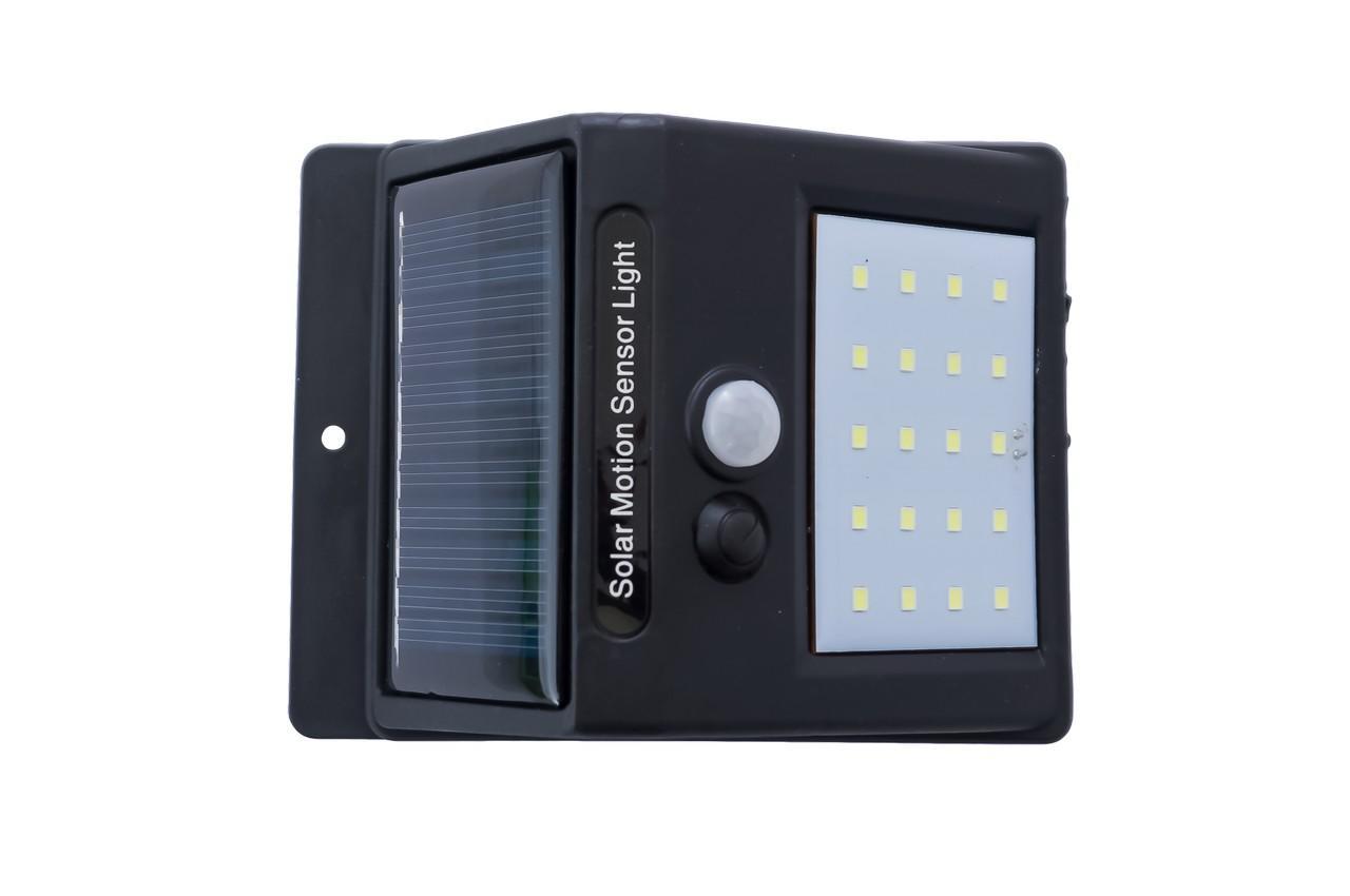 Фонарь светодиодный на солнечной батарее Sensor Light - 4LED с датчиком движени
