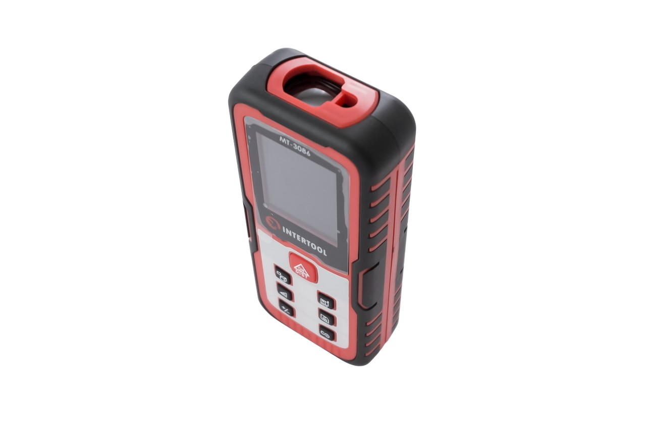 Дальномер лазерный Intertool - 60 м цветной дисплей