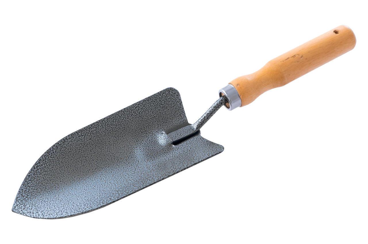 Лопатка посадочная Mastertool - 300 x 80 мм ручка дерево
