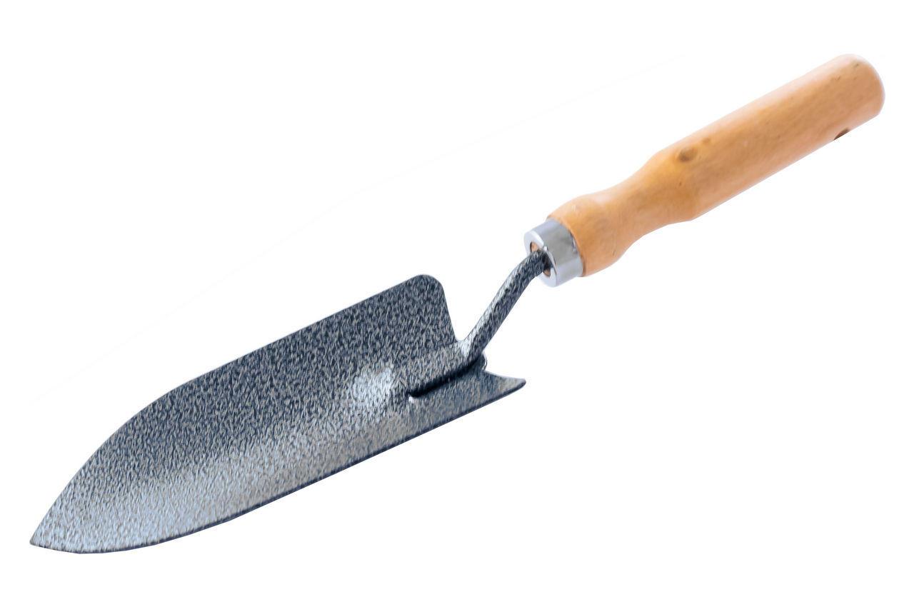 Лопатка посадочная Mastertool - 300 x 60 мм ручка дерево