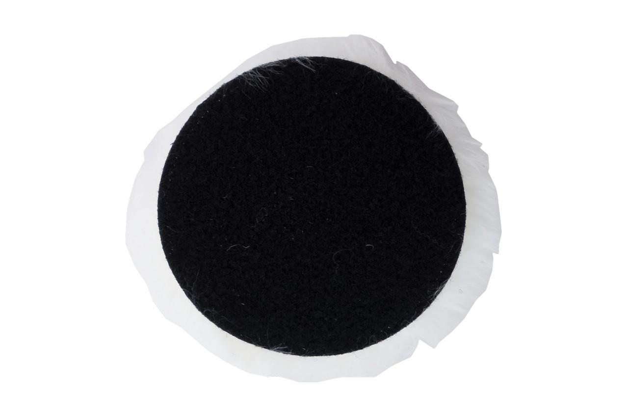 Круг полировальный овчина Асеса - 150 мм на липучке