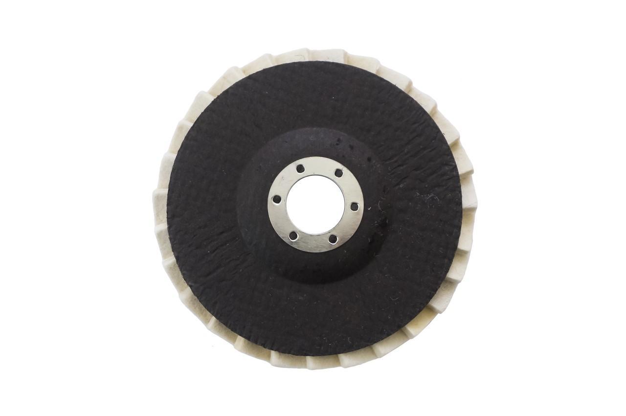 Круг войлочный  лепестковый на УШМ Асеса - 125 x 25 мм