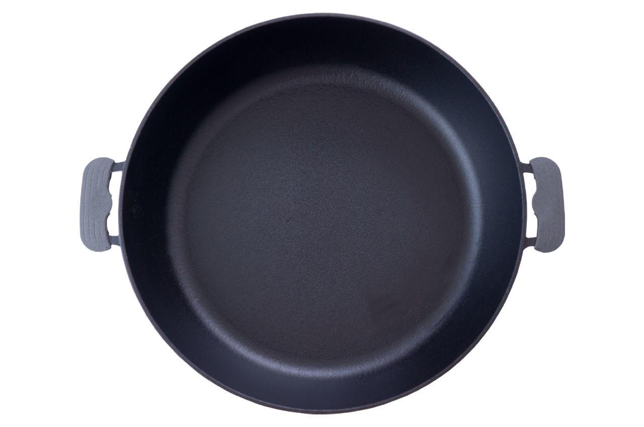 Сковорода жаровня чугунная Биол - 360 мм