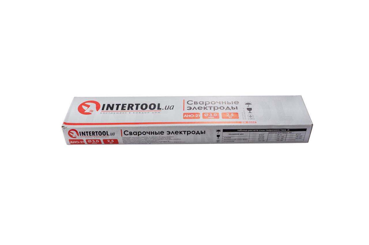 Электроды сварочные Intertool - 3 мм x 2,5 кг АНО-21