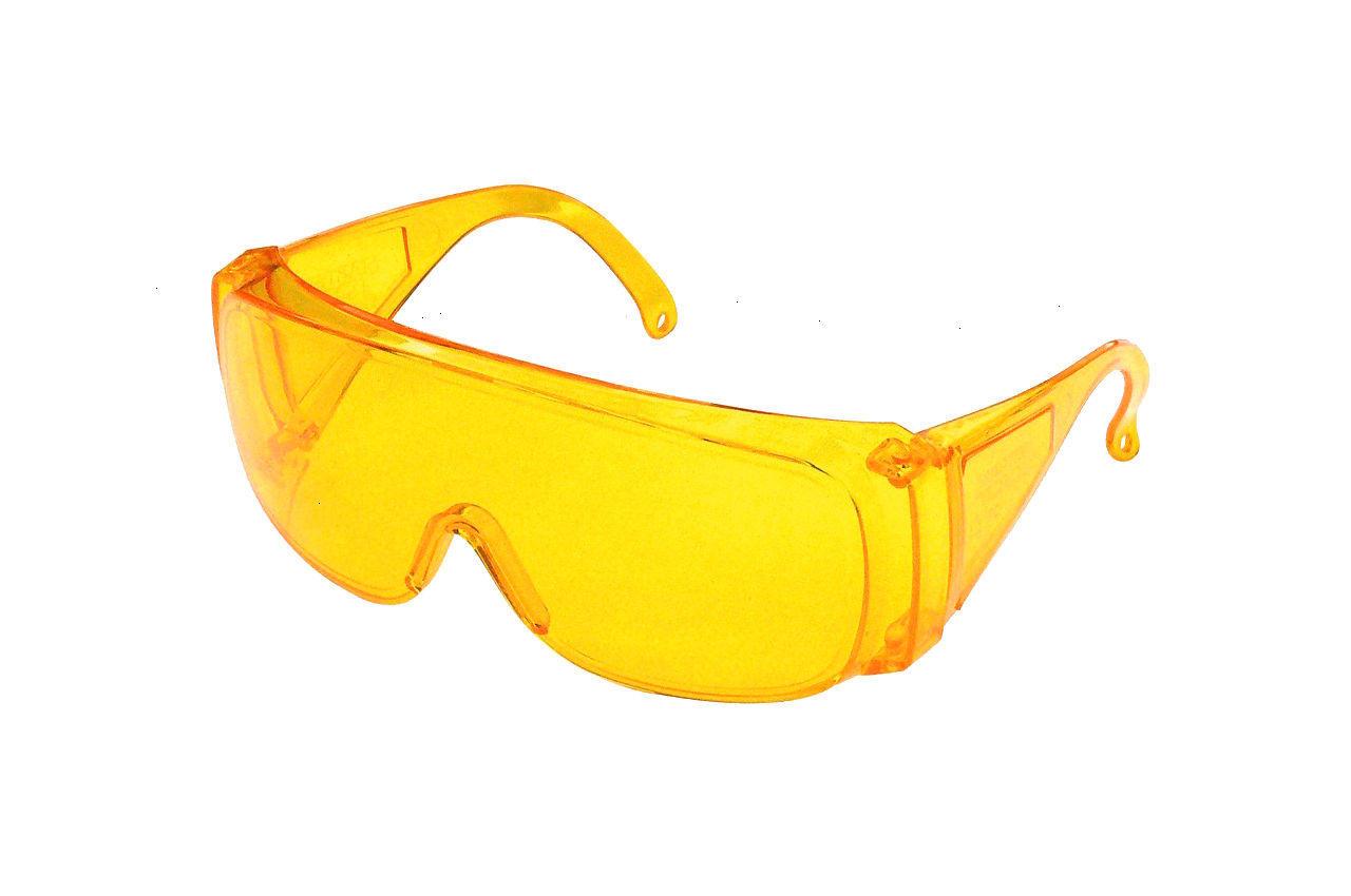 Очки защитные Mastertool - озон желтые