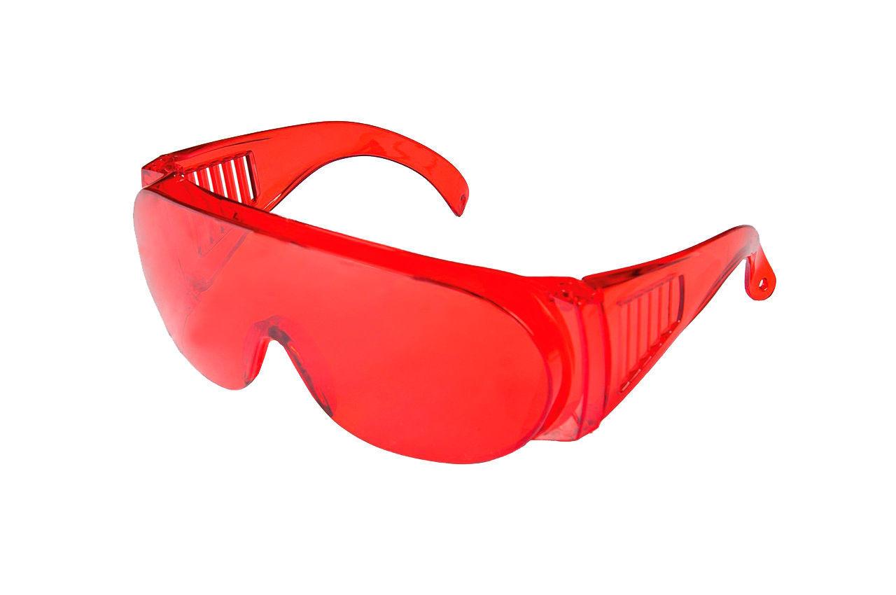 Очки защитные Mastertool - озон красные