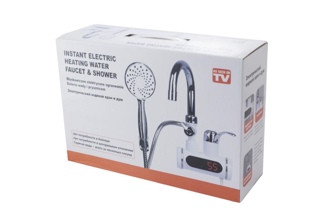 Водонагреватель проточный с душем PRC - Faucet & Shower LZ008
