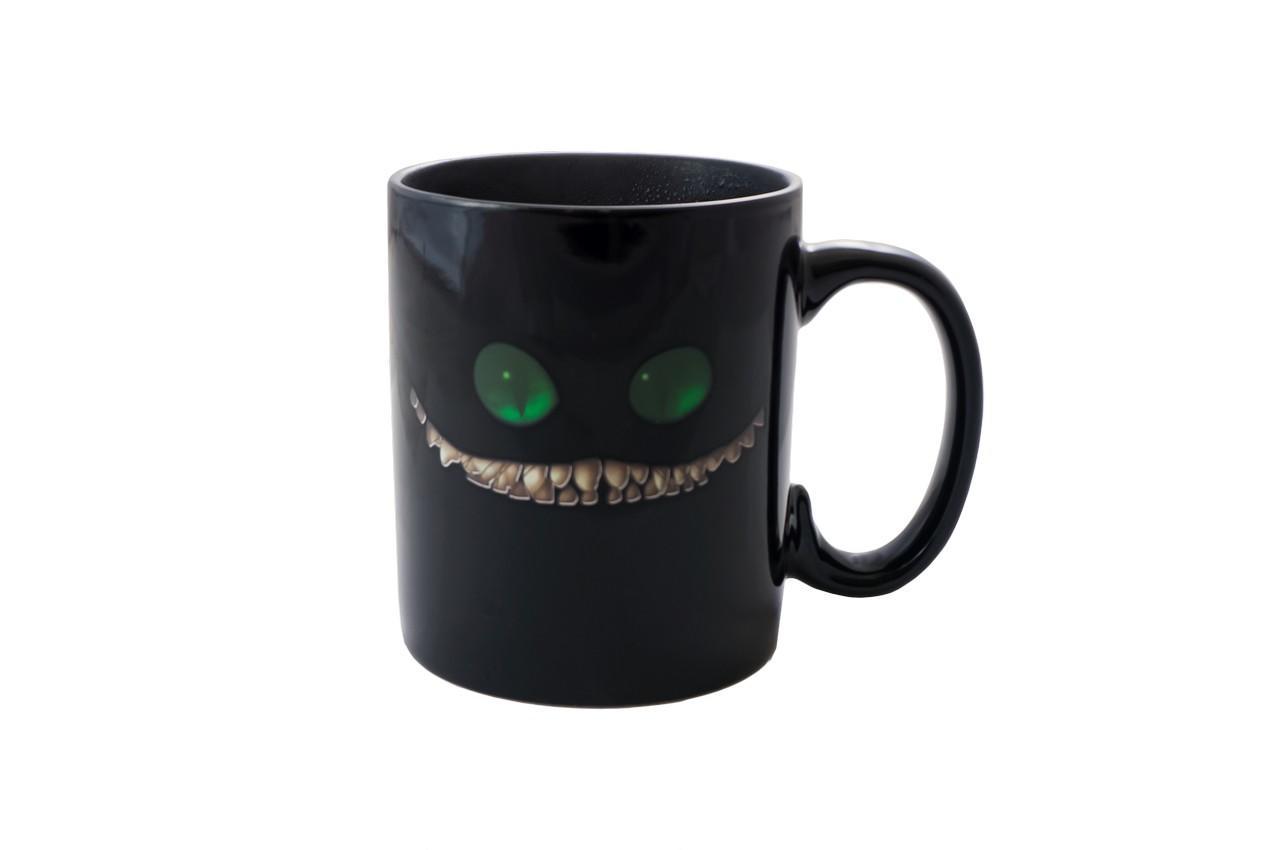 Чашка керамическая хамелеон Elite - 300 мл кот