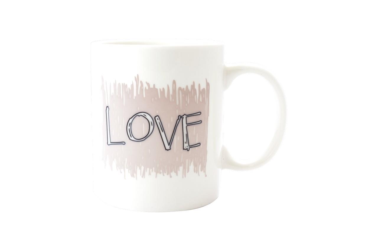 Чашка керамическая хамелеон Elite - 300 мл Love