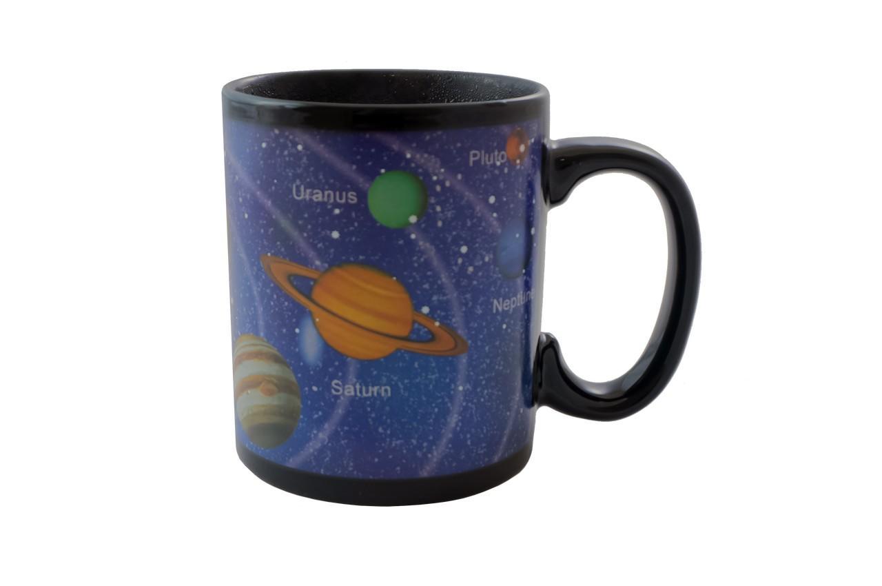 Чашка керамическая хамелеон Elite - 300 мл космос