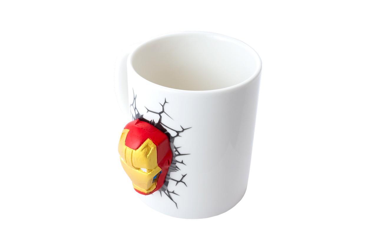Чашка керамическая Elite - 300 мл  Iron Man 3D