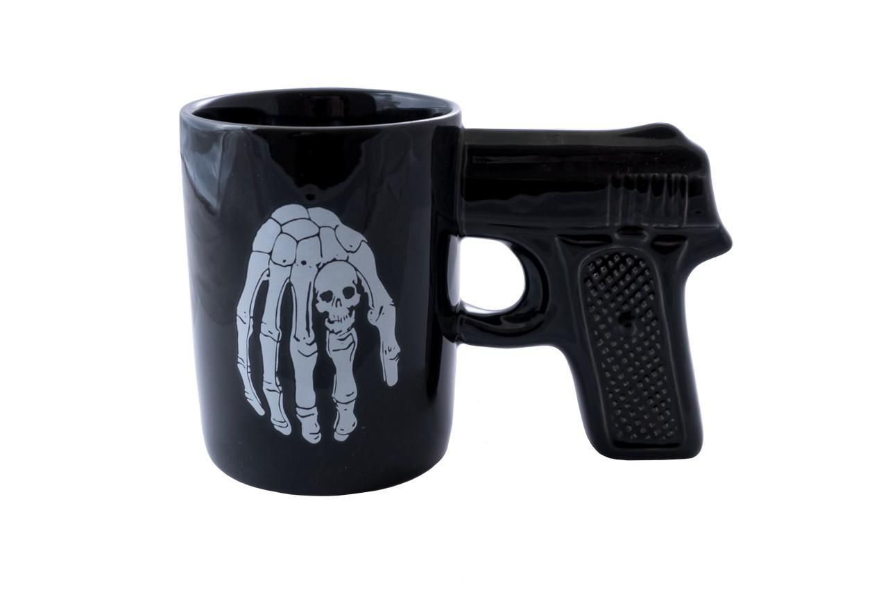 Чашка керамическая Elite - 400 мл пистолет