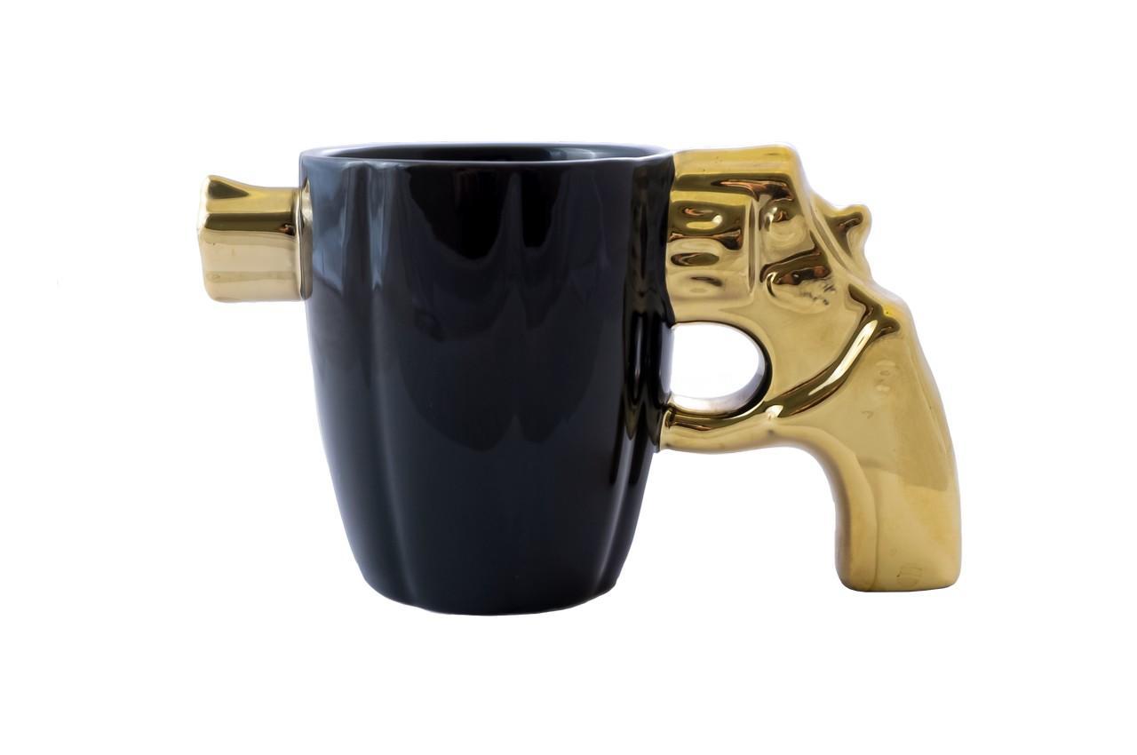 Чашка керамическая Elite - 300 мл пистолет