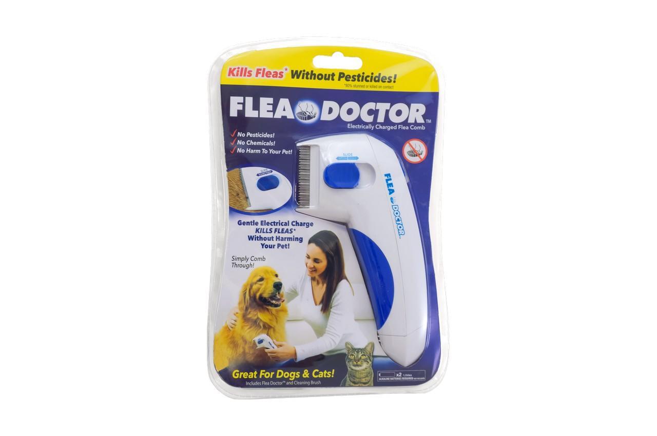 Электрическая расческа от блох для собак и котов Elite - Flea Doctor