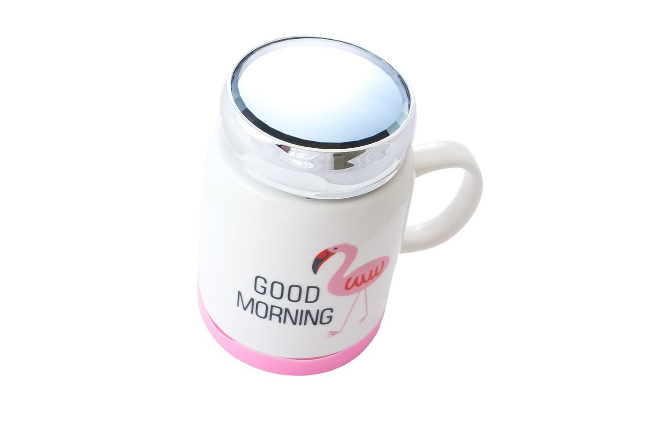Чашка термос керамическая Elite - 500 мл