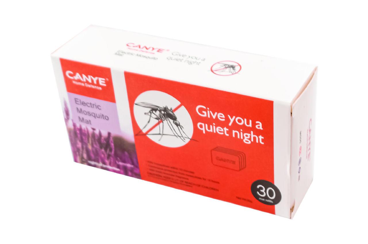 Пластины от комаров для фумигатора Canye - 30 шт. лаванда EL-B1028