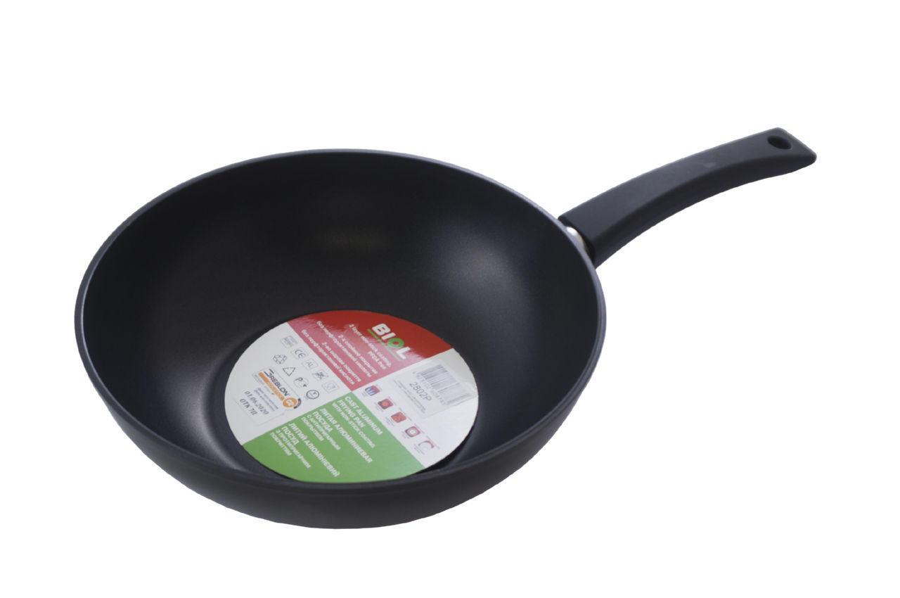 Сковорода WOK антипригарная Биол - 280 мм x 4 л