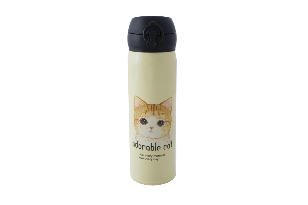 Термокружка Elite - 450 мл Adorable Cat