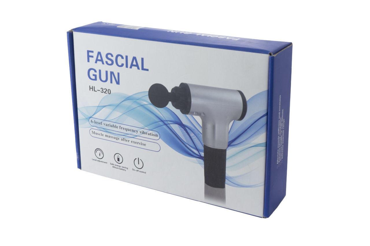 Массажер для мышц Elite - Fascial Gun HL-320