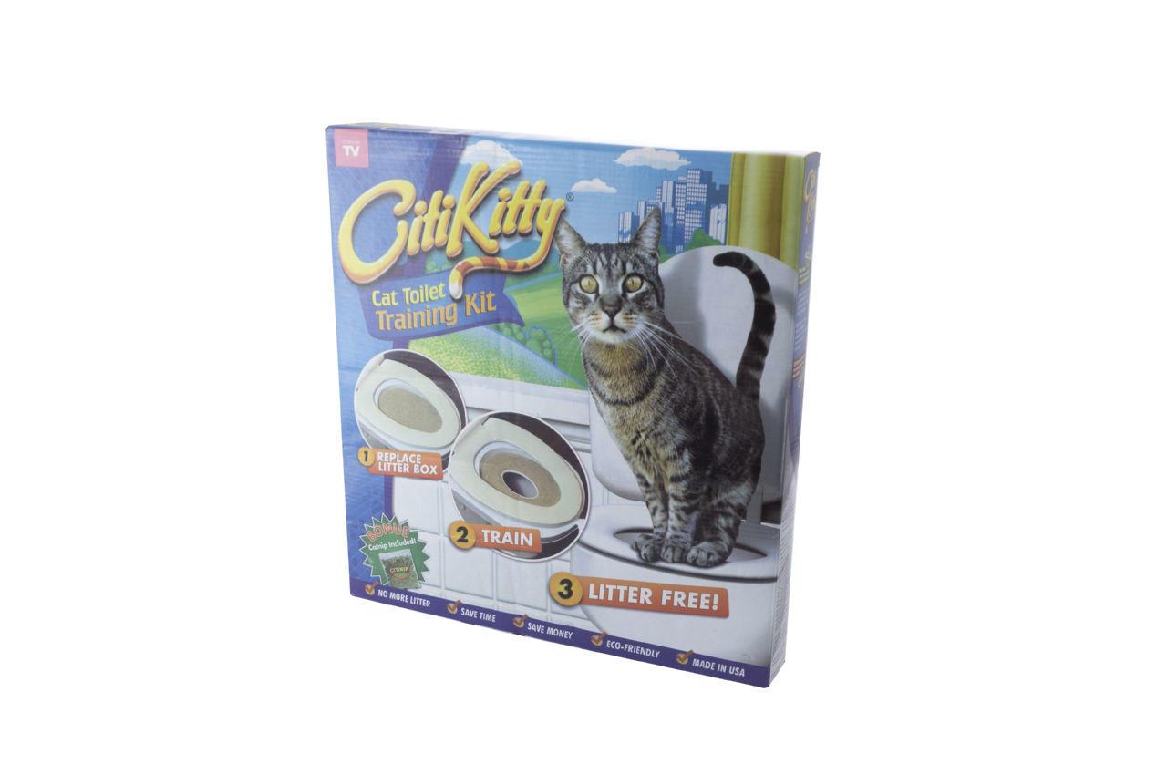 Система приучения кошек к унитазу Elite - CitiKitty