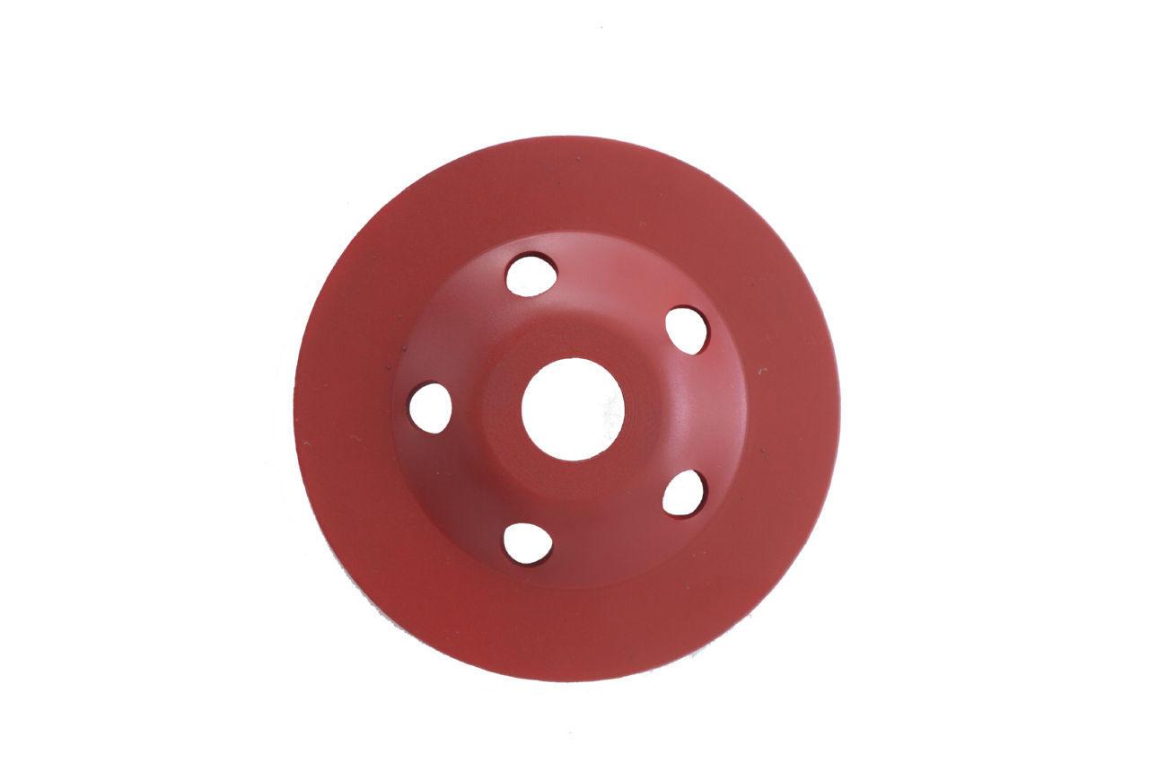 Чашка алмазная Aceca - 125 x 22,2 мм L красная