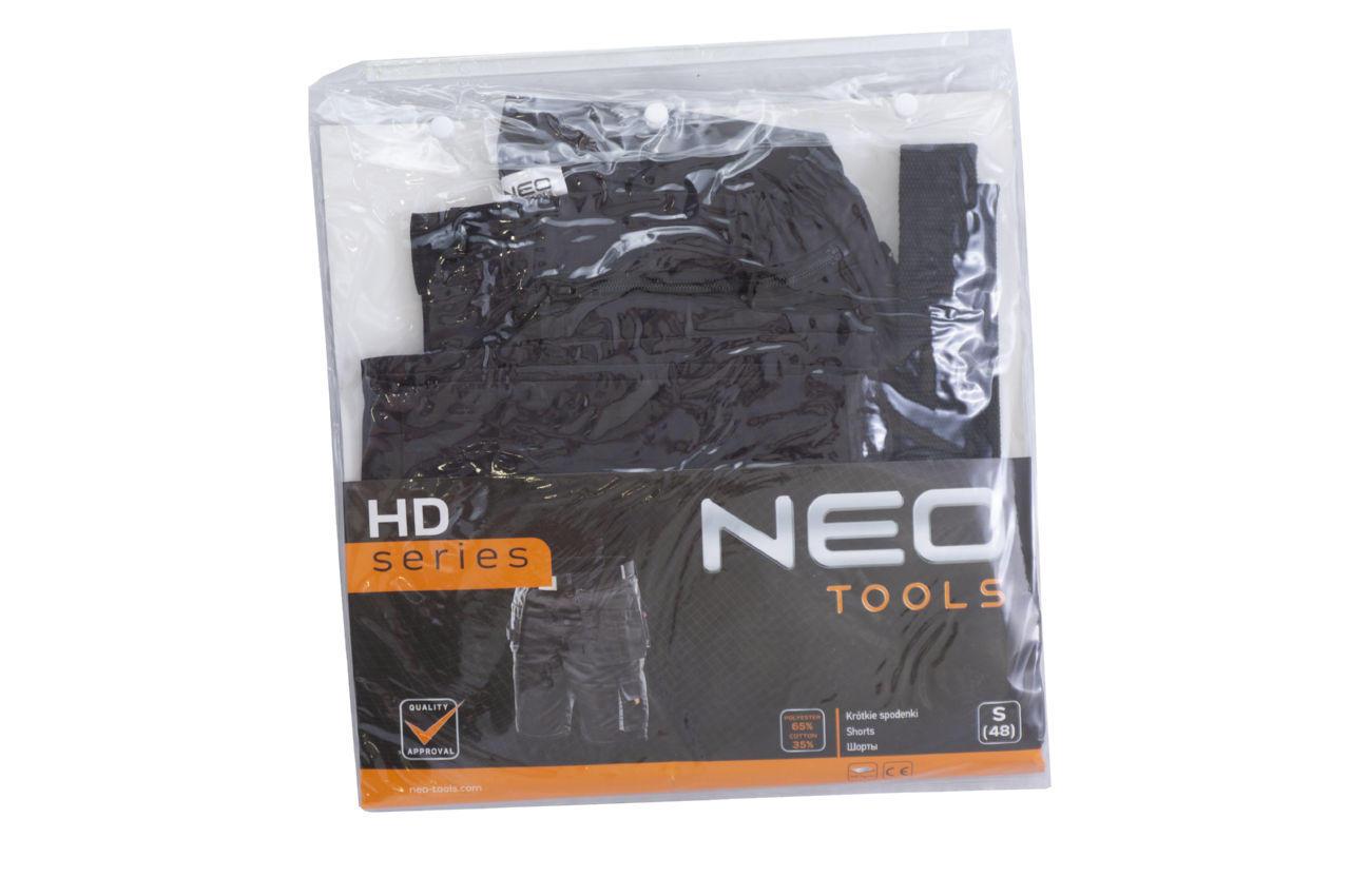 Шорты рабочие с ремнем NEO - S/48