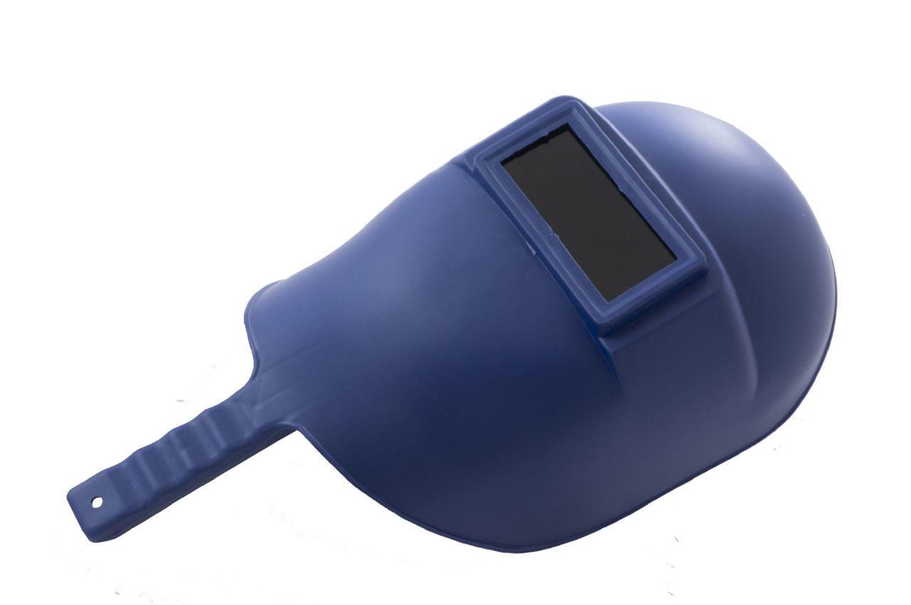 Маска сварочная Mastertool - с ручкой синяя