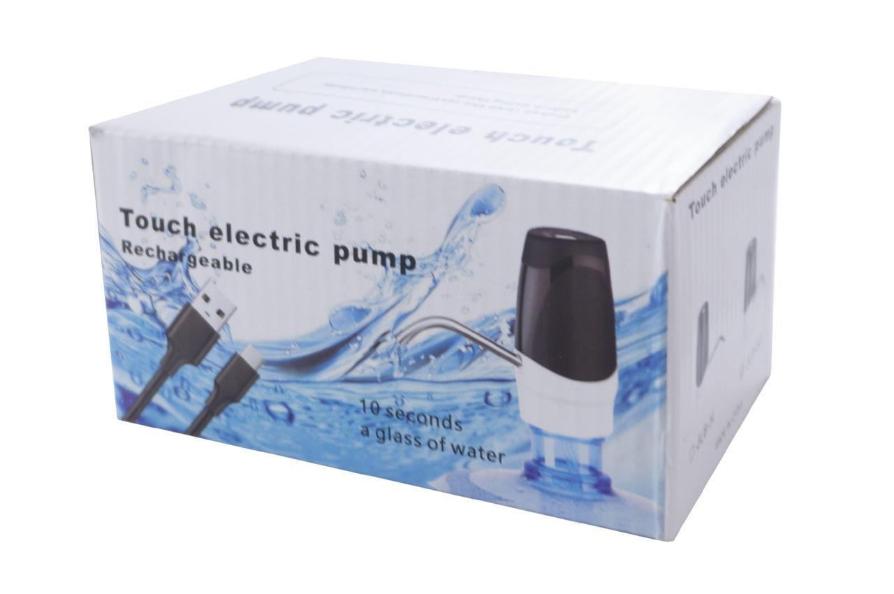 Помпа- Диспенсер для воды электрическая с зарядкой USB PRC Touch Electric Pump - 1,7 л/м